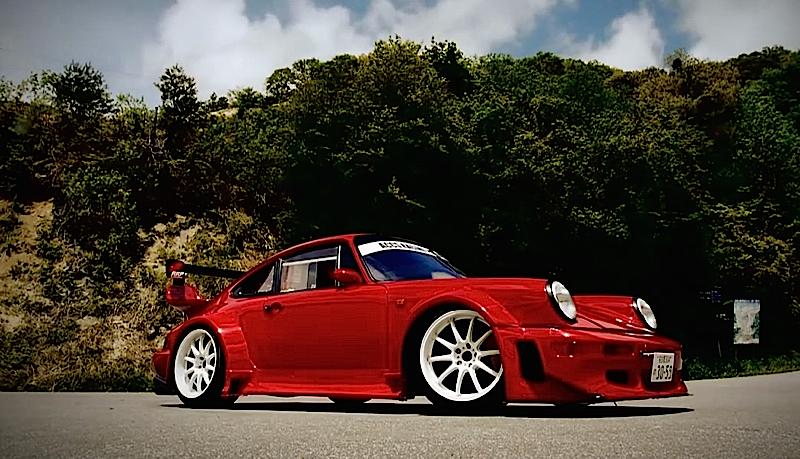 DLEDMV - Porsche 964 Drift KA-TUN 01