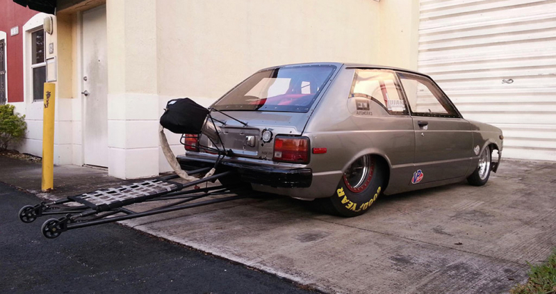 1250 ch dans une Toyota Starlet... Ca va secouer ! 5