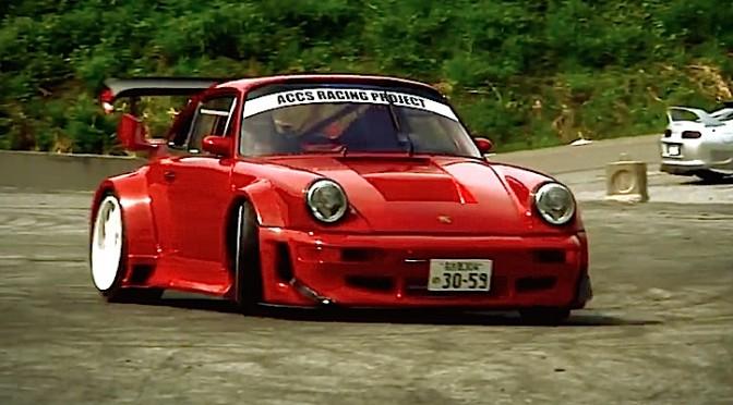 Porsche 964 c2 ka tun tueuse de pneus vid o de l for Porsche ka che