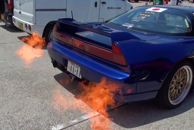 DLEDMV - Honda NSX dragon's fire - 02