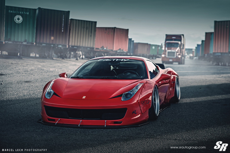 DLEDMV - Ferrari 458 Liberty Walk Airride & Pur - 01