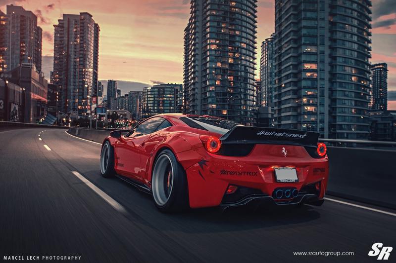 DLEDMV - Ferrari 458 Liberty Walk Airride & Pur - 06
