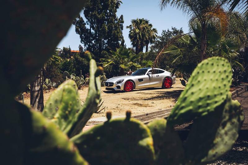 DLEDMV - Mercedes AMG GT Forgiato Red - 04