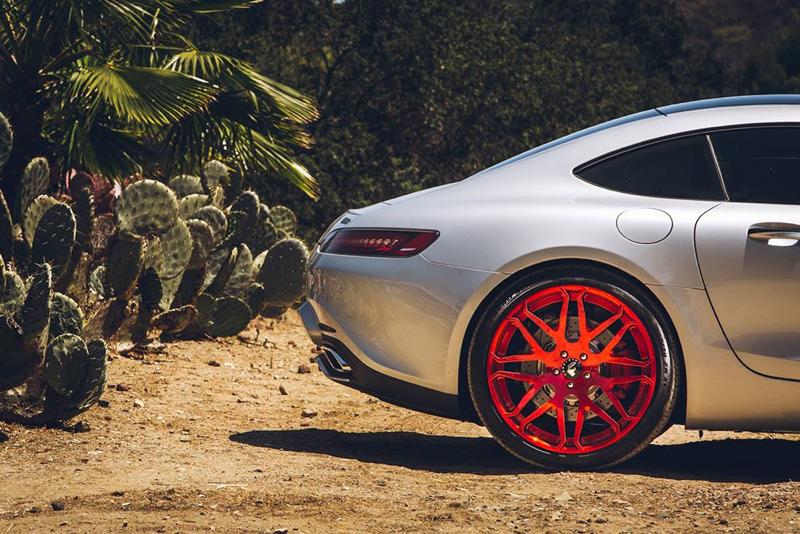 DLEDMV - Mercedes AMG GT Forgiato Red - 05