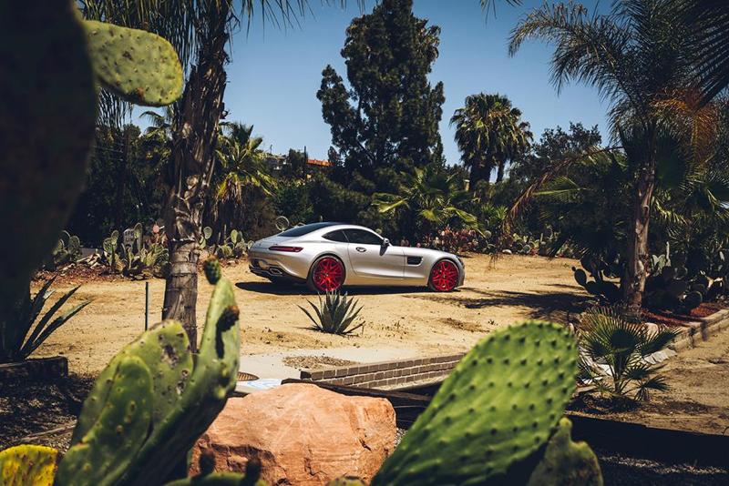 DLEDMV - Mercedes AMG GT Forgiato Red - 08