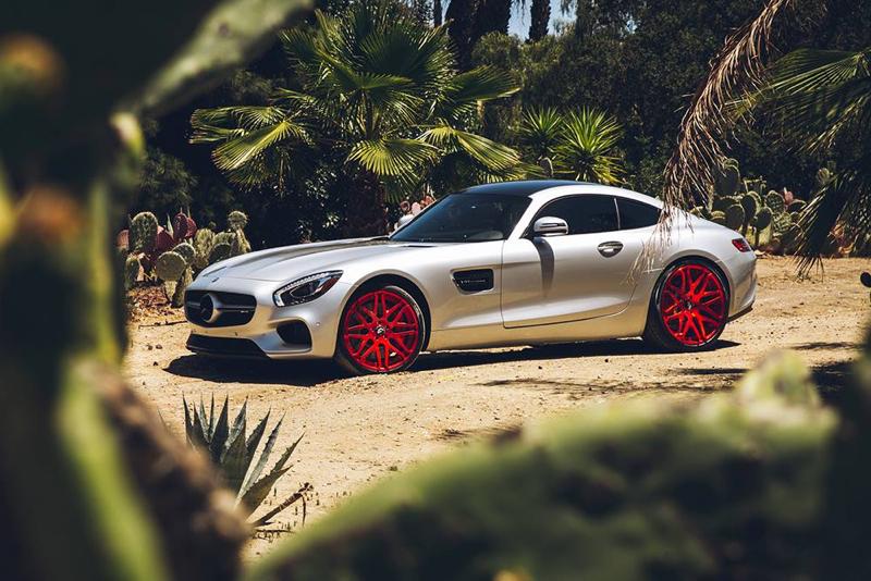 DLEDMV - Mercedes AMG GT Forgiato Red - 09