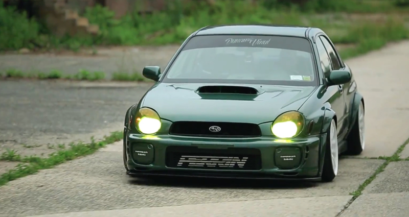 DLEDMV - Subaru WRX Green Bugeye - 03