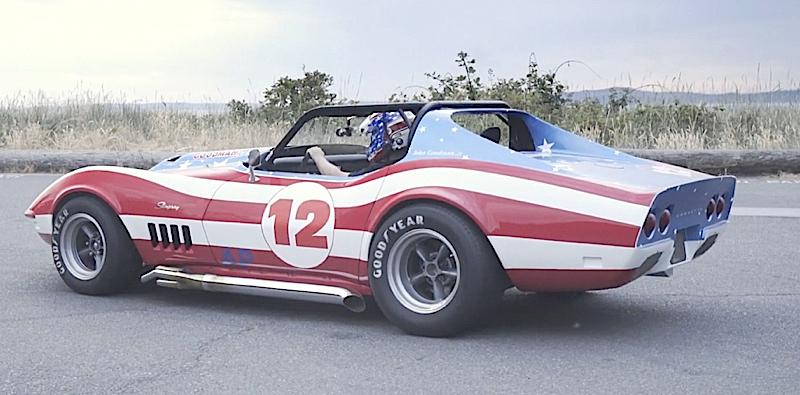 DLEDMV - Corvette real america stars & stripes - 01