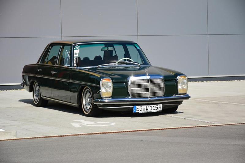 Magdalena et sa bagged Mercedes W115. 7