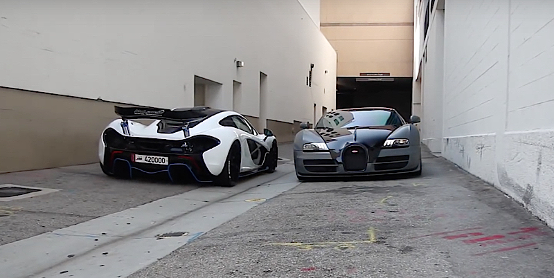 DLEDMV - Bugatti Vitesse & McLaren P1 - 01