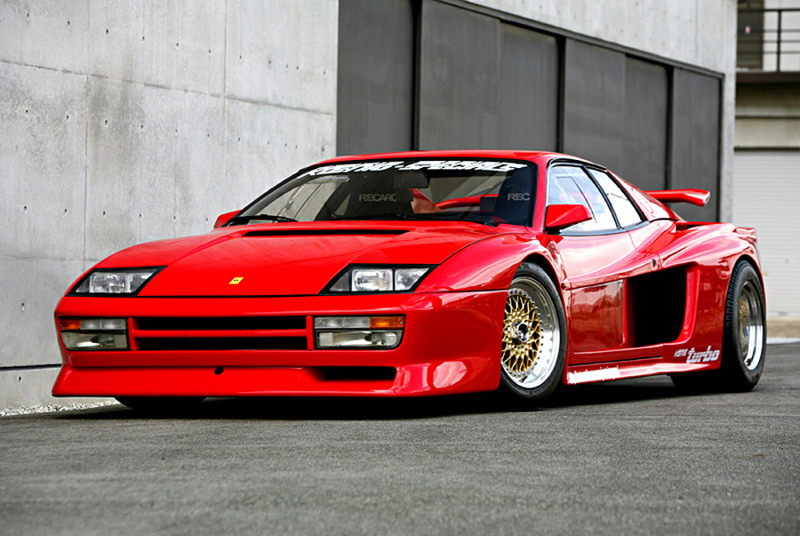 Ferrari Testarossa Koenig Competition Evolution... La brute des 80's 1