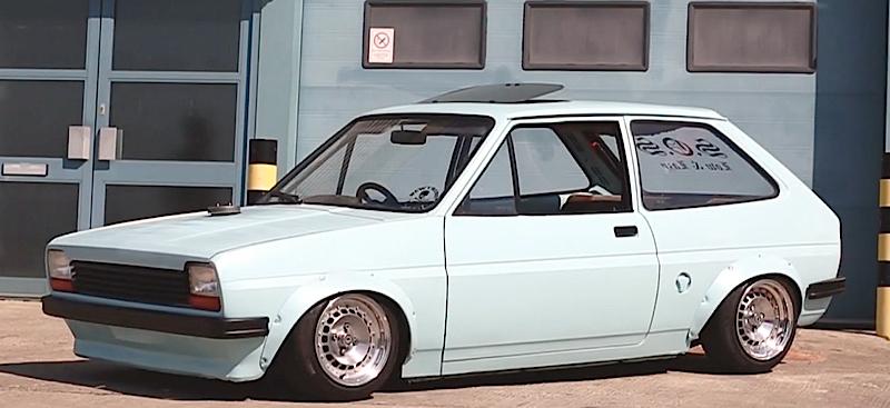 DLEDMV - Ford Fiesta MK1 Slammed - 04