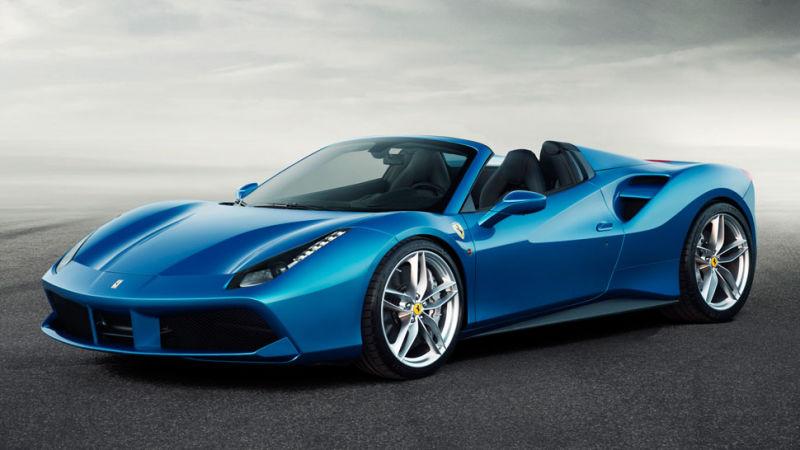 DLEDMV - Francfort 2015 best of Ferrari & Lambo Spider - 01