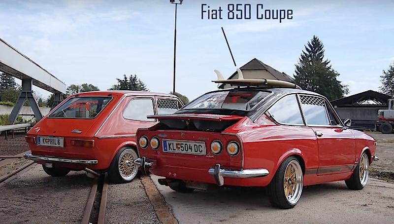 Stanced Fiat 127 Amp 850 Vous Allez Aimer Les Fiat De L