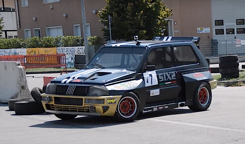 DLEDMV - Fiat Panda Turbo Slalom - 01