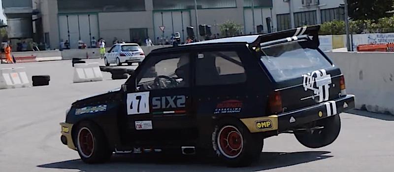 DLEDMV - Fiat Panda Turbo Slalom - 02
