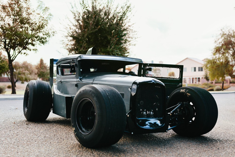 DLEDMV - Ford A Hot rod + F1 - 03