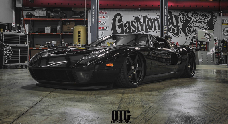 gas monkey super duper ford gt 800 pour le sema de l