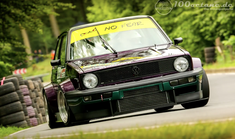 DLEDMV - Golf 1 hillclimb - 03