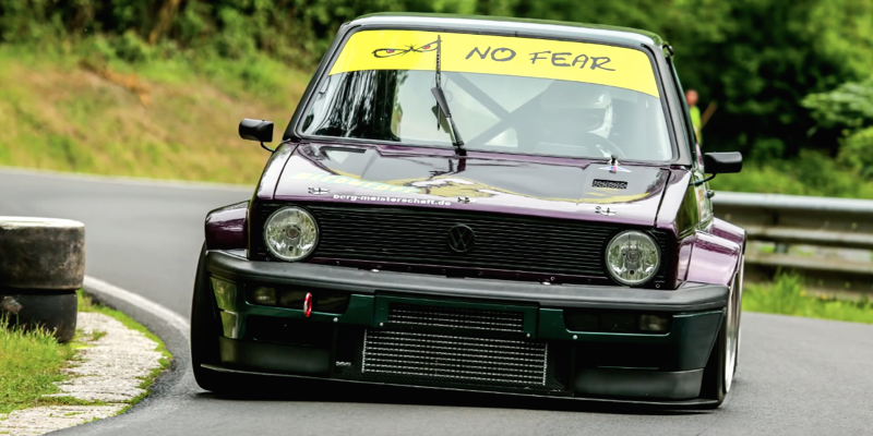 "Hillclimb Monster : Golf 1 GTI 16v - ""Purple Reine"" 3"