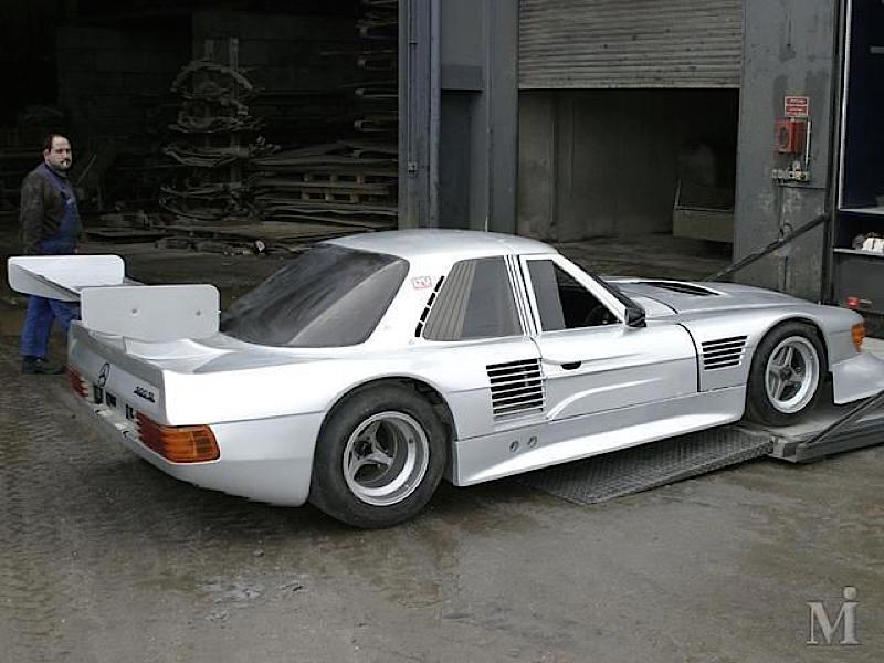 DLEDMV - Mercedes 500 SLC Groupe C - 02