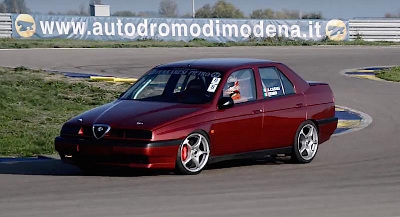 DLEDMV - Alfa 155 Autodromo de modena - 03