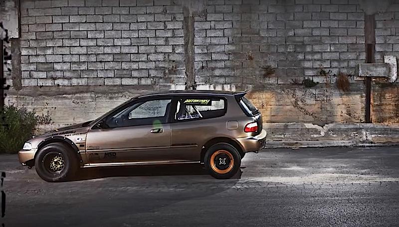 DLEDMV - Honda Civic EG Drag Grece 817 hp - 03