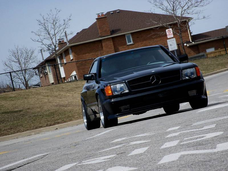 DLEDMV - Mercedes 500 SEC AMG 83 - 02
