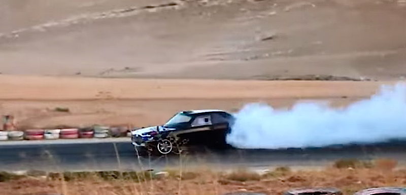 DLEDMV - Mercedes 560 SEC 2JZ drift Jordanie - 04