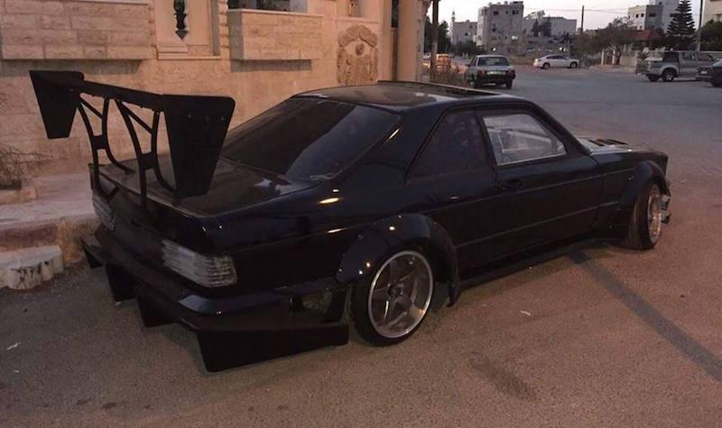 Un coupe 560 SEC en 2JZ... Serial Drifter ! 3