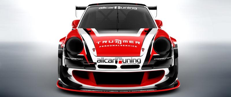 DLEDMV - Porsche 997 GT2 RSR Hillclimb - 01