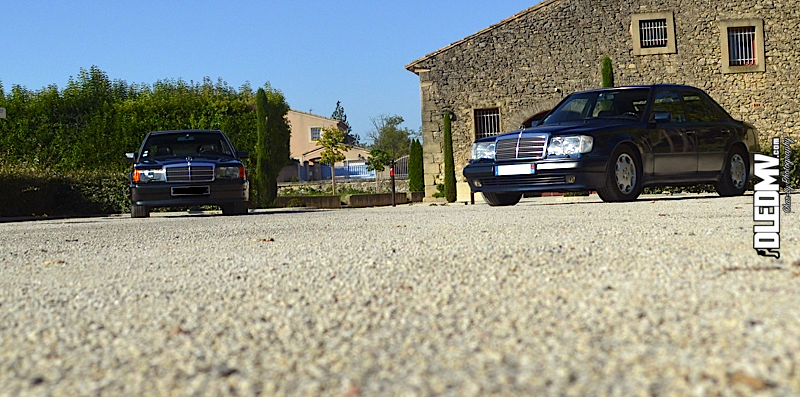 DLEDMV - Mercedes 500E & 190 2.3 16v - 03