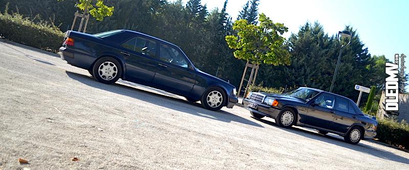 DLEDMV - Mercedes 500E & 190 2.3 16v - 12