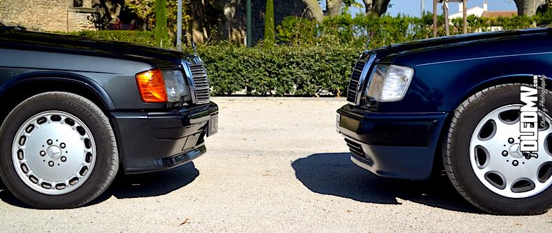 DLEDMV - Mercedes 500E & 190 2.3 16v - 13