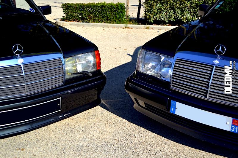 DLEDMV - Mercedes 500E & 190 2.3 16v - 14
