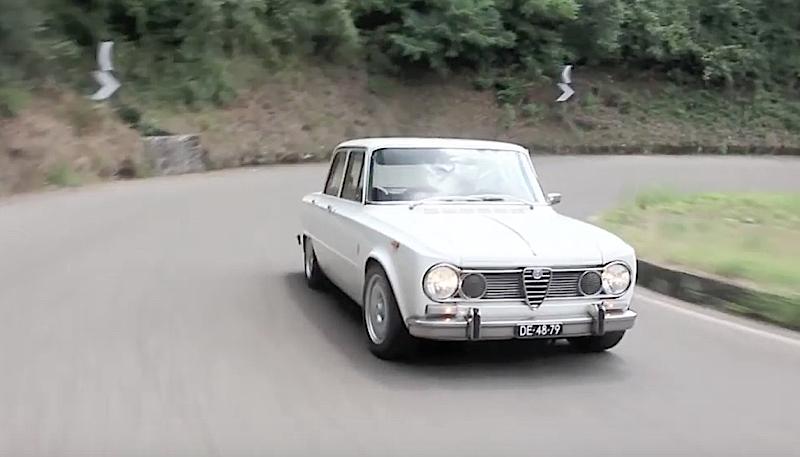 DLEDMV - Alfa Giulia 1300 Super Road trip - 05