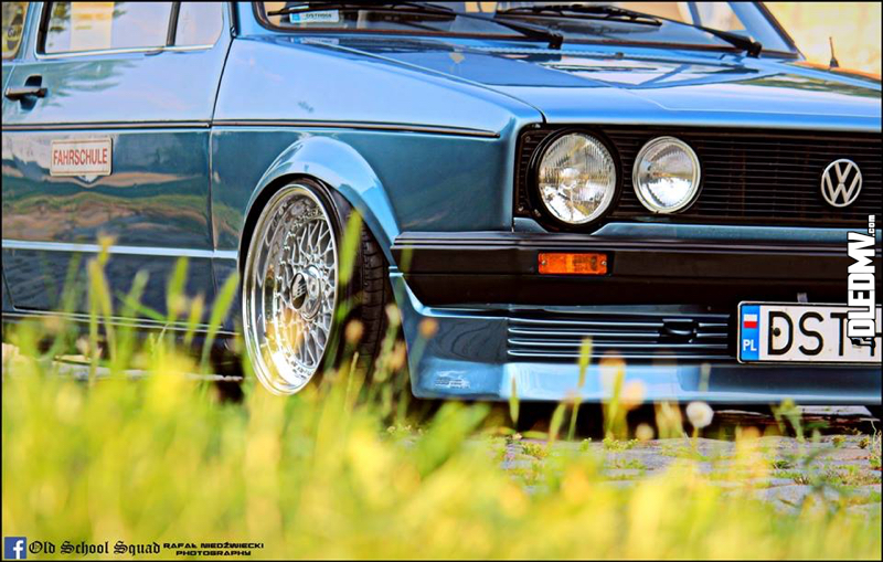 DLEDMV - VW Golf 1 blue full BBS - 03