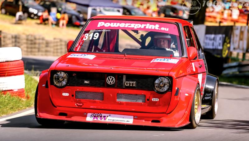 DLEDMV - VW Golf 1 hillclimb Schonborn - 01