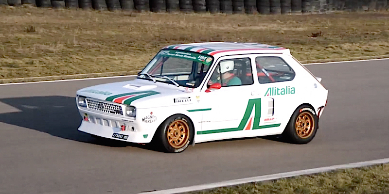 Mini Fiat 127... Maxi V6 Turbo ! 3
