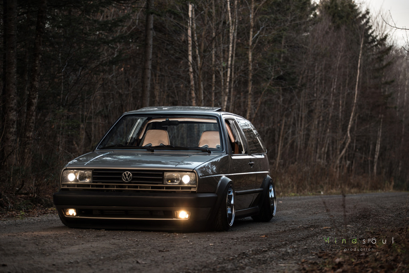 DLEDMV - Golf 2 VR6 turbo Unix performance - 05