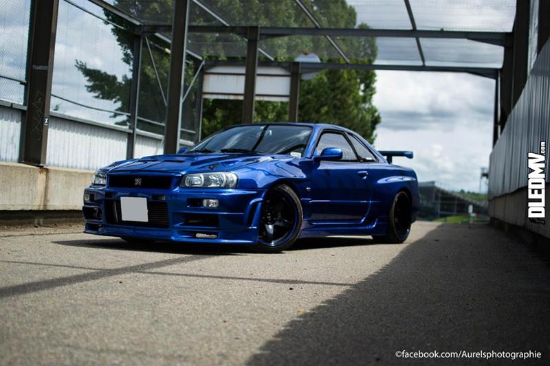 DLEDMV - Nissan Skyline Blue R34 Aurels - 02