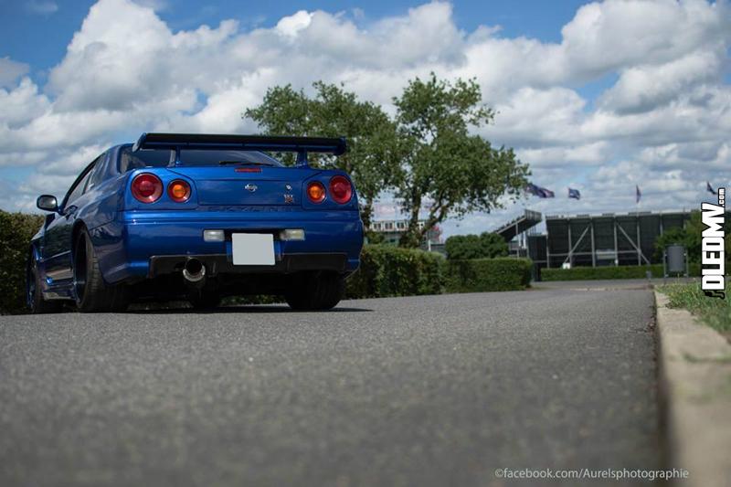 Skyline R34 GT-T - En bleu et en France... 3