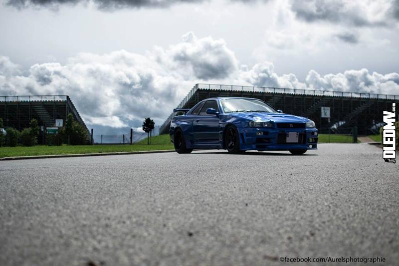 DLEDMV - Nissan Skyline Blue R34 Aurels - 07