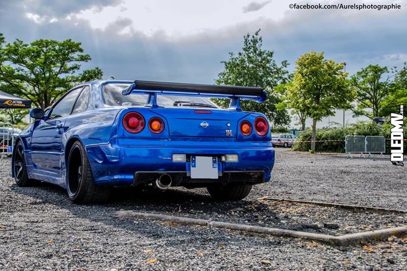 DLEDMV - Nissan Skyline Blue R34 Aurels - 08