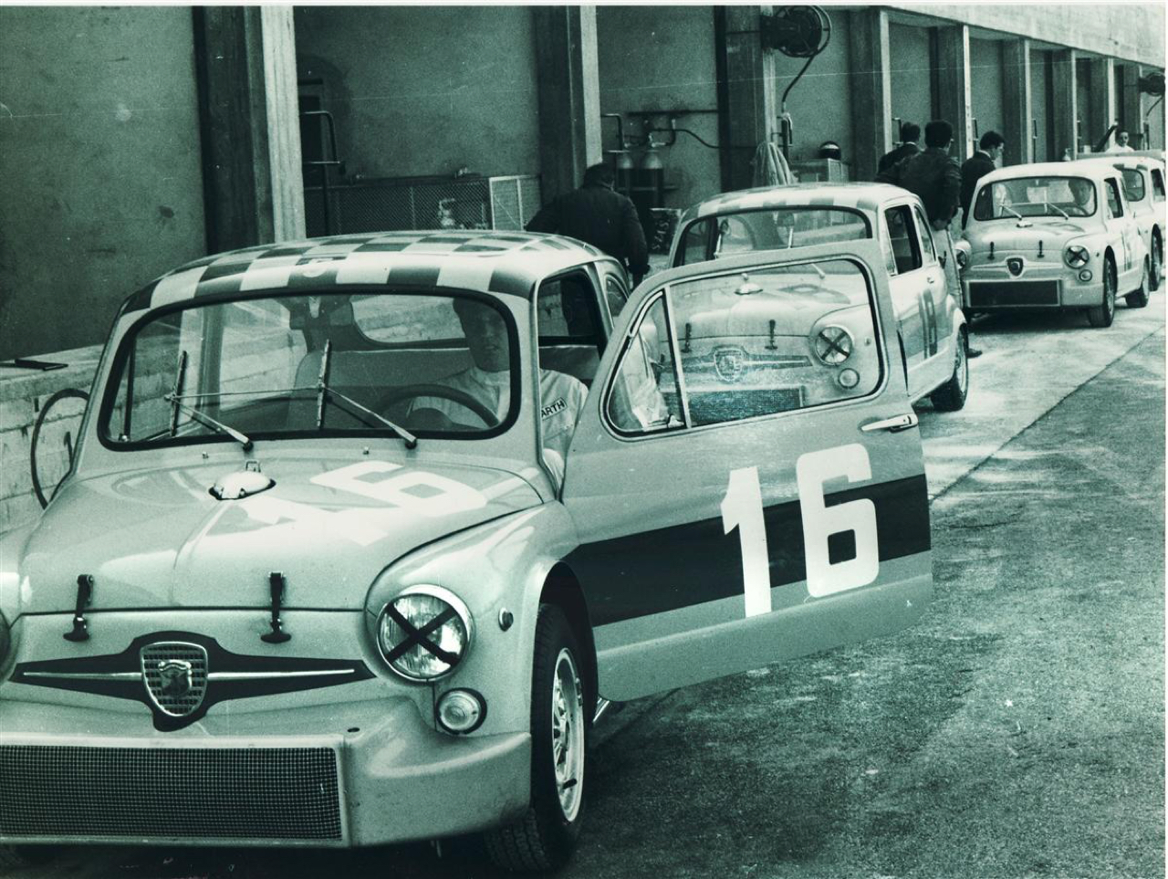 DLEDMV - Fiat 600 Abarth 1000 TCR - 01