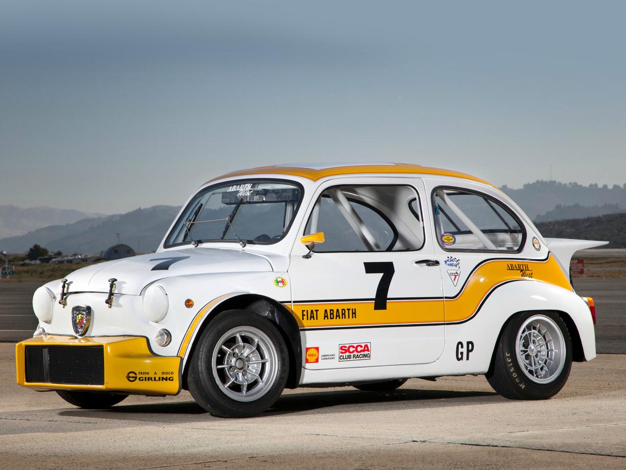 Fiat 600 Abarth 1000 Tcr Boule De Nerf De L Essence