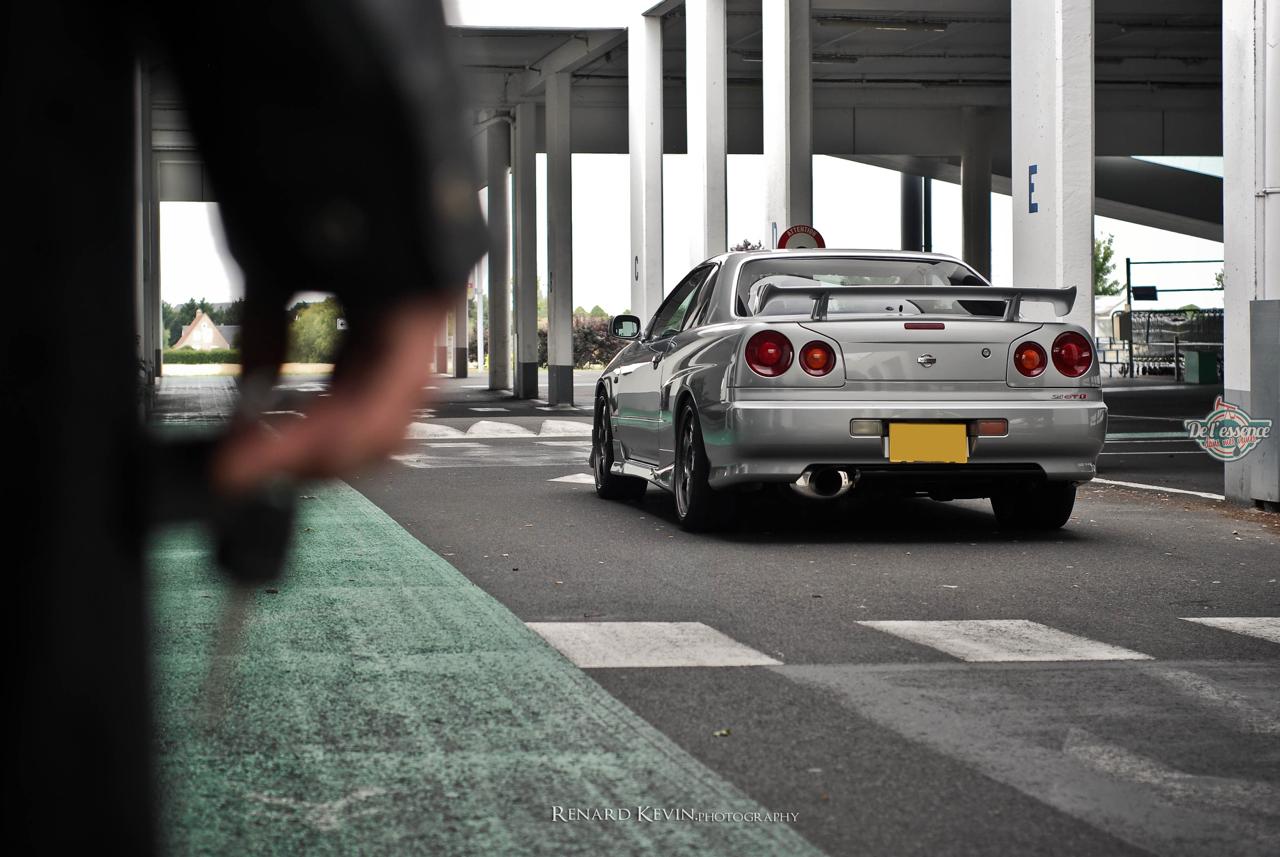 DLEDMV - Nissan Skyline R34 Grey KevinR - 05