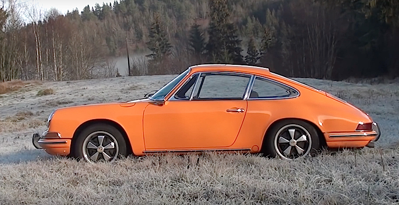 DLEDMV - Porsche 911 SWB orange - 01