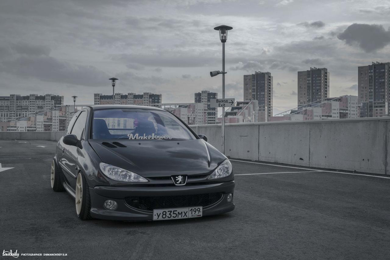 DLEDMV - Peugeot 206 S16 Russe - 10