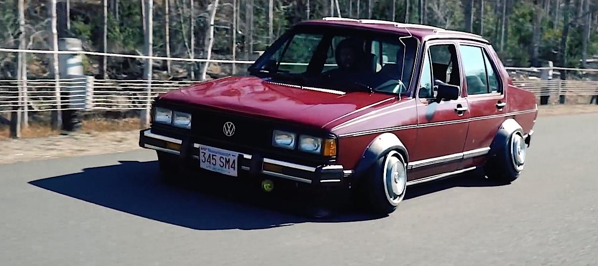 DLEDMV - VW Jetta MK1 Slammed Static - 02